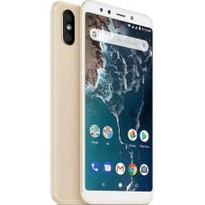 Xiaomi Mi A2 (4/64GB) EU Global Version Gold ΕΛΛΗΝΙΚΟ ΜΕΝΟΥ (Περιέχει Θήκη Σιλικόνης)