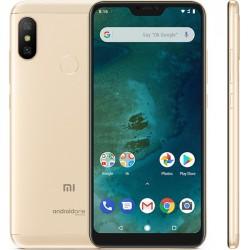 Xiaomi Mi A2 Lite (4/64GB) EU Global Version Gold ΕΛΛΗΝΙΚΟ ΜΕΝΟΥ (Περιέχει Θήκη Σιλικόνης)