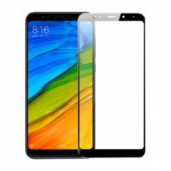 Oem Tempered Glass Xiaomi Redmi 5 Plus Full Cover Black