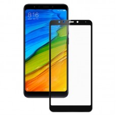 Oem Tempered Glass Xiaomi Redmi 5 Full Cover Black