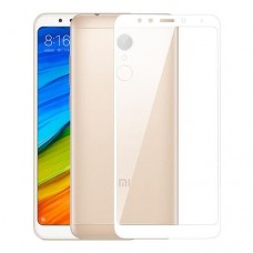 Oem Tempered Glass Xiaomi Redmi 5 Full Cover White
