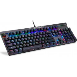 Motospeed CK103 Keyboard Black -Blue Switches + ΔΩΡΟ Motospeed Mousepad P70